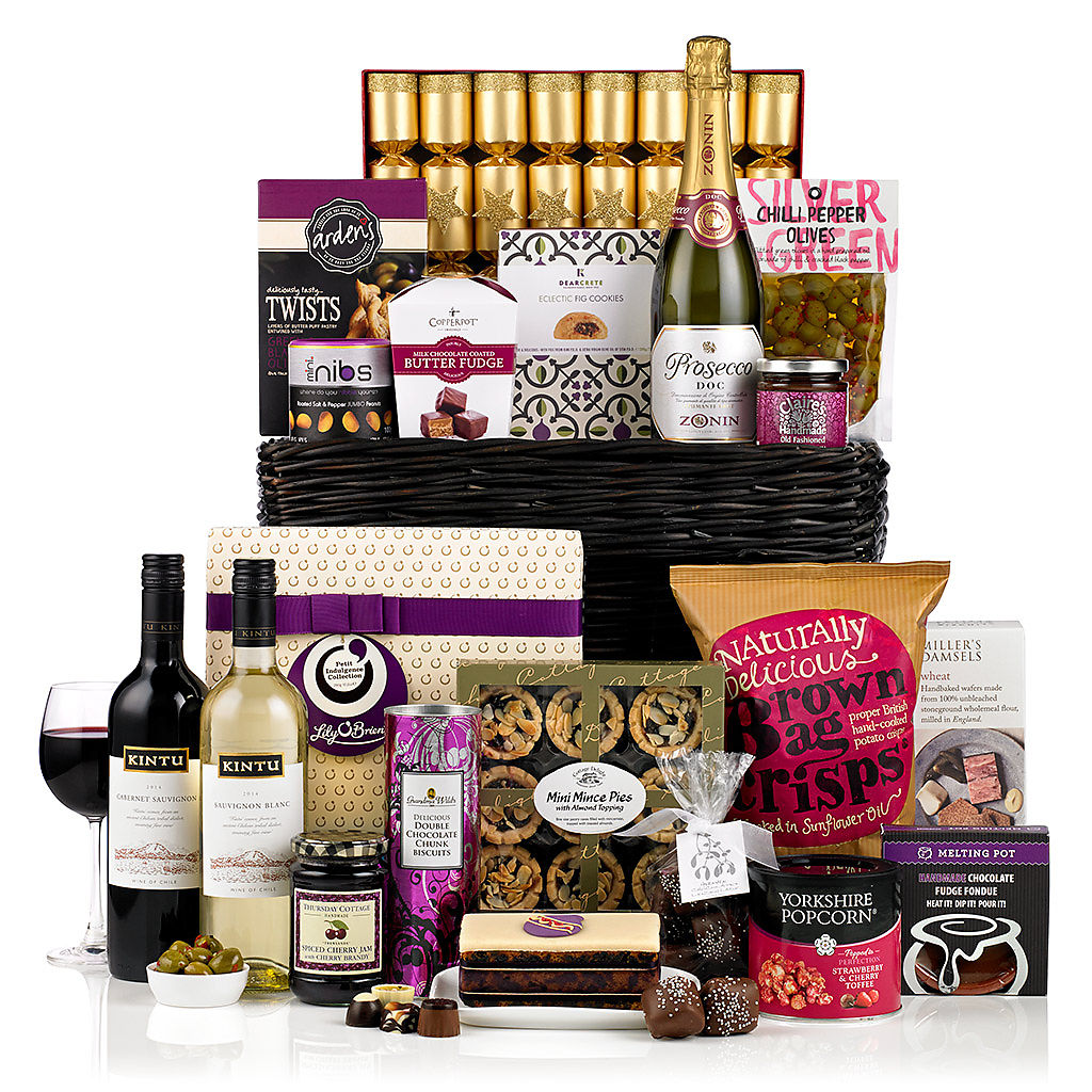 A Touch of Class (£125) Corporate Christmas Hampers