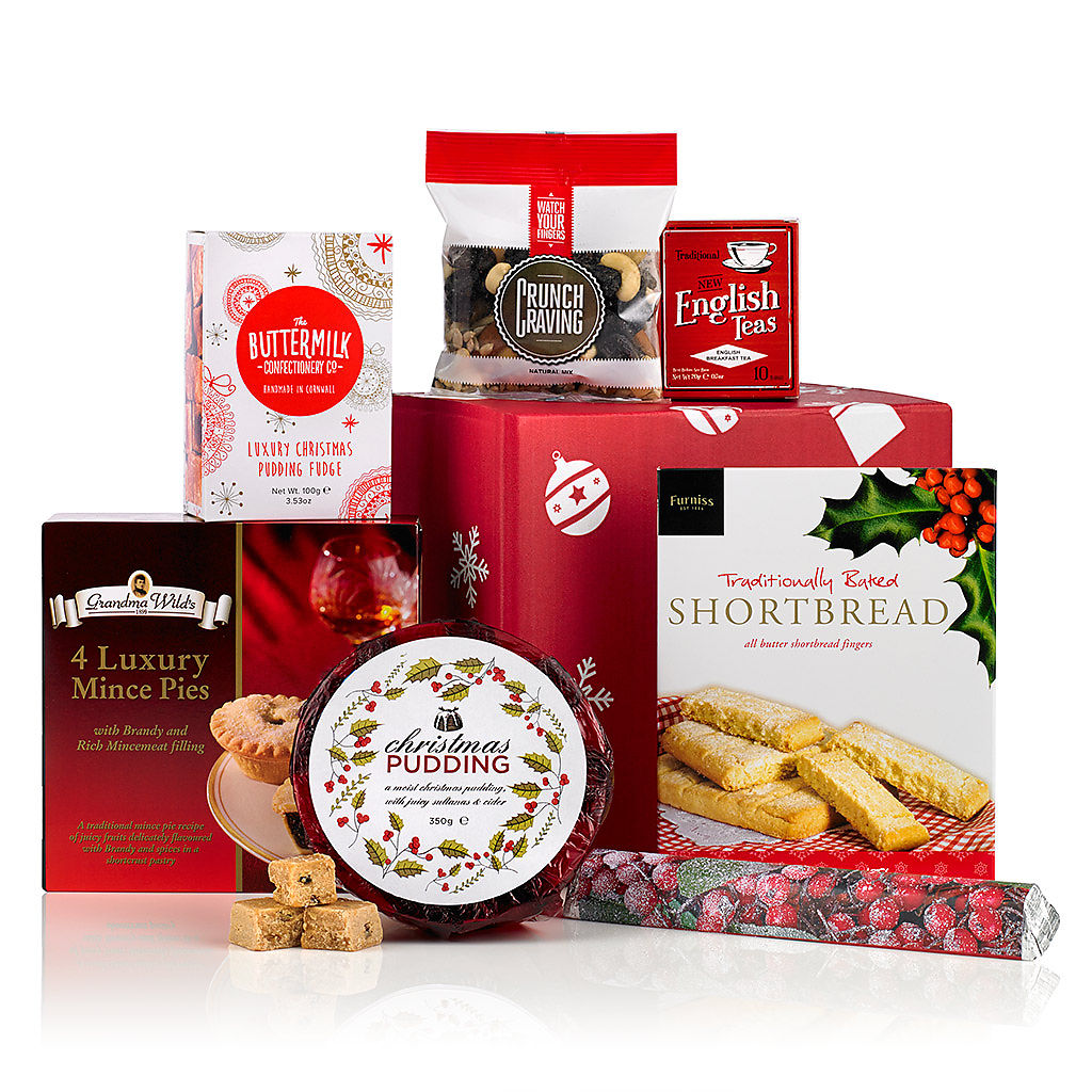 Goodies Galore (£14.99) Corporate Christmas Hampers