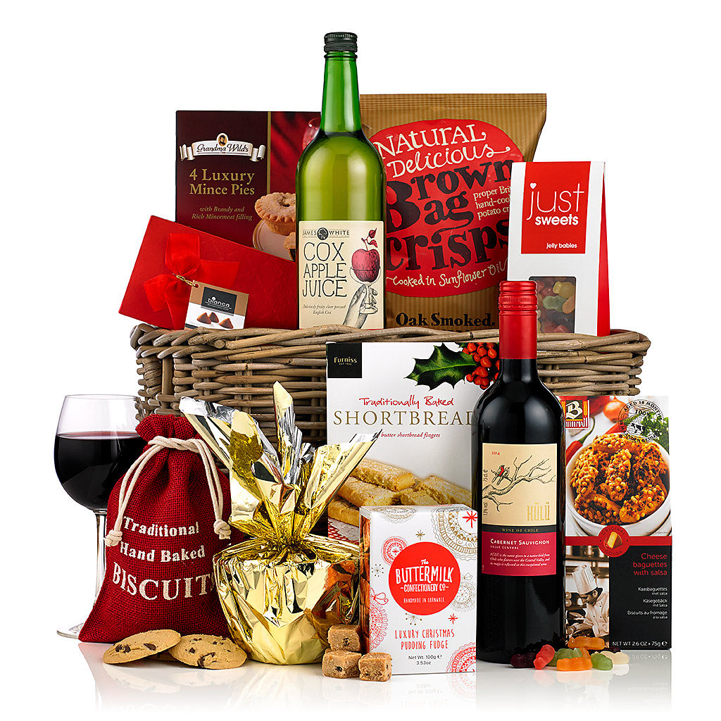 Season's Greetings Basket (£50) Corporate Christmas Hampers