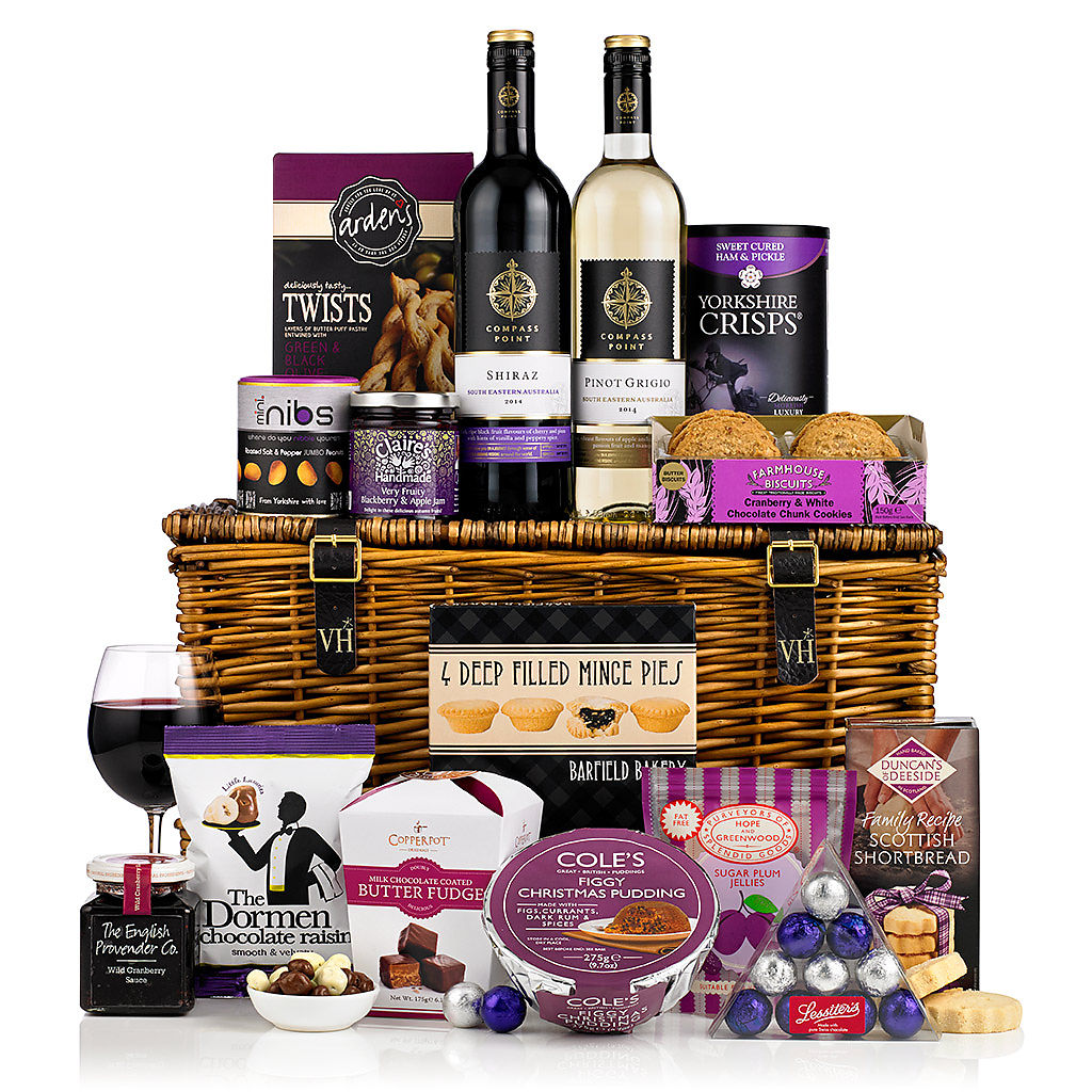 Silent Night Basket (£80) Corporate Christmas Hampers