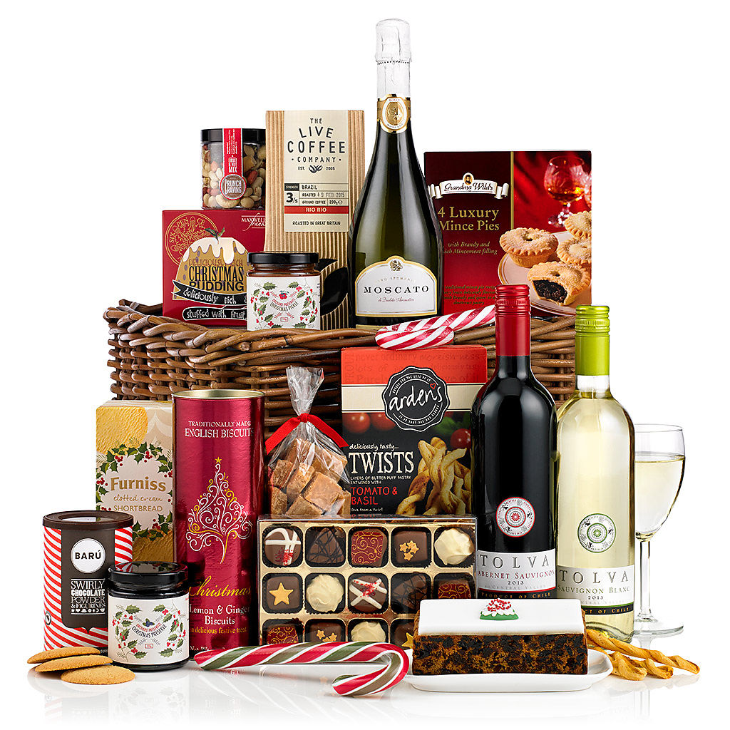 Taste of Christmas Basket (£100) Corporate Christmas Hampers