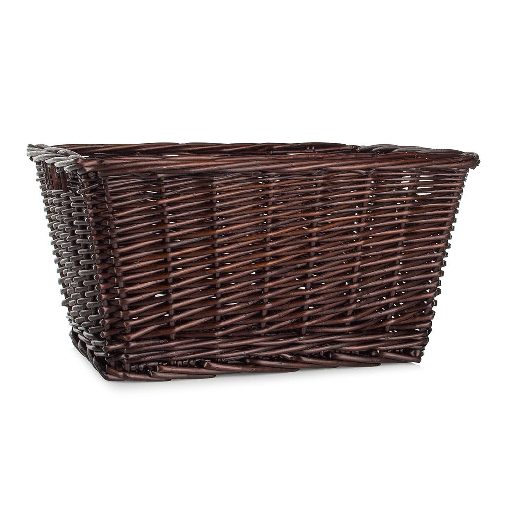 Brown Willow Storage Basket