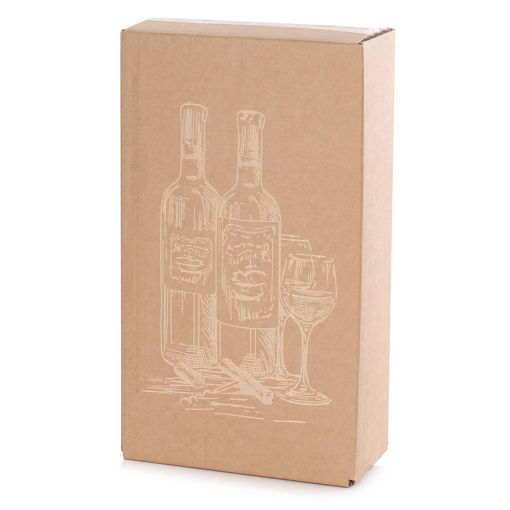 Decorative Wine Carton