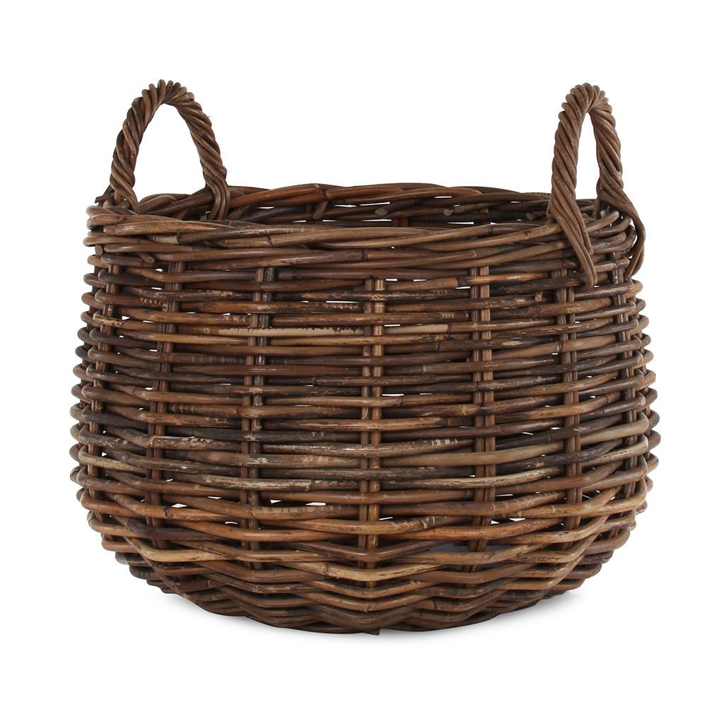 Croco Storage Basket with Handles