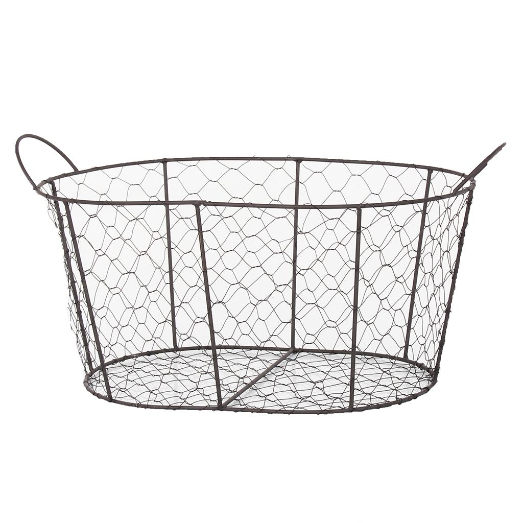 Cheese Lover Hamper Wire Basket