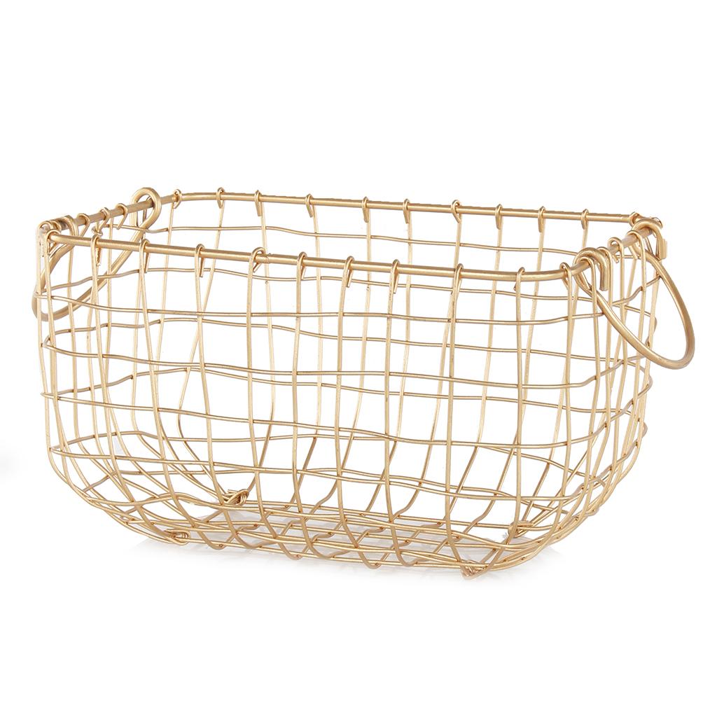 Gold Wire Basket