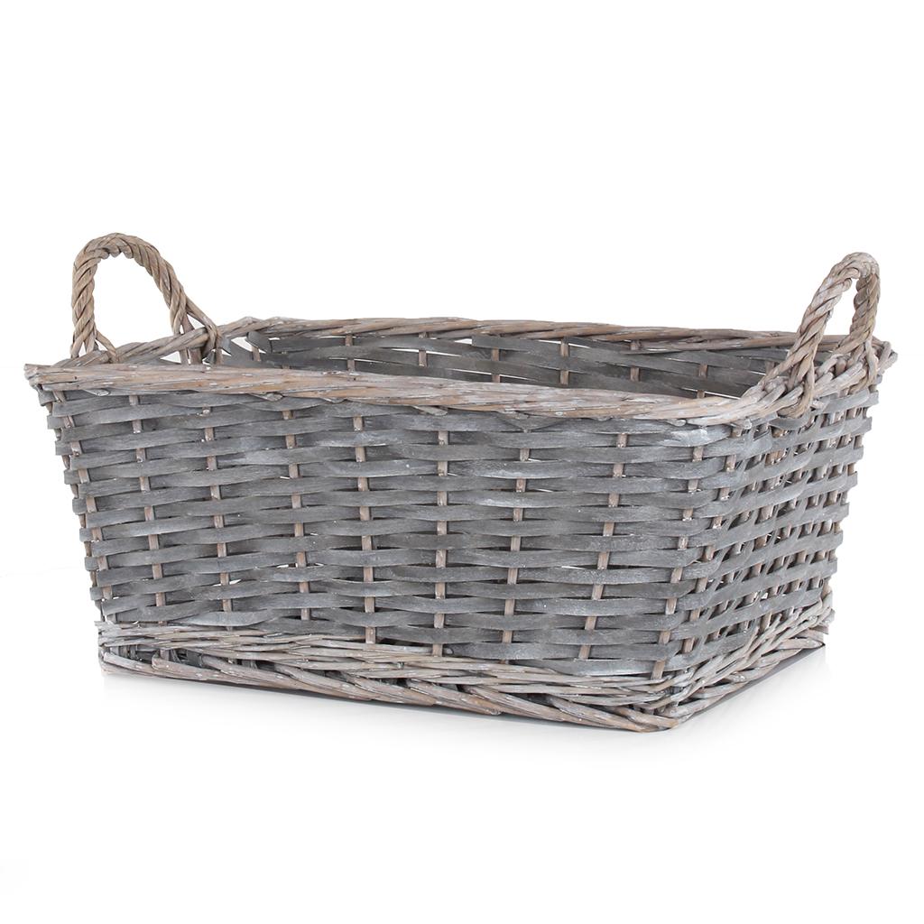 Grey Storage Basket