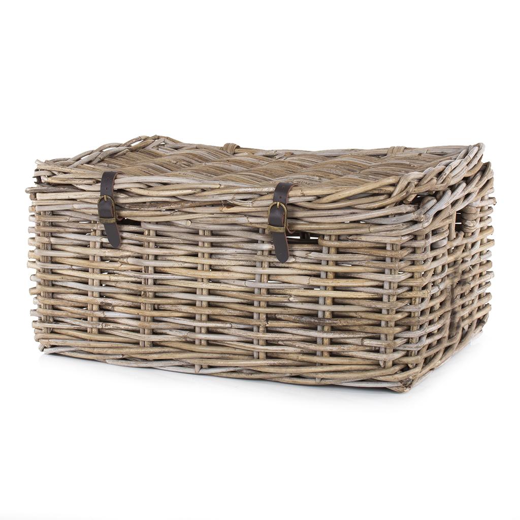 Medium Lidded Kubu Basket