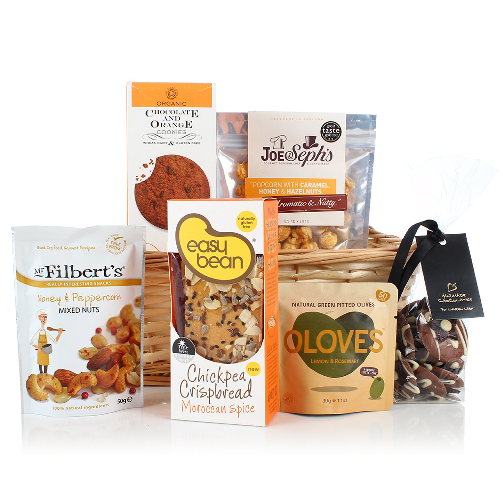 Buying hampers for those who can't eat or are avoiding gluten and wheat has been made a lot easier with the introduction of our Gluten & Wheat Free Hamper. (£24.99)