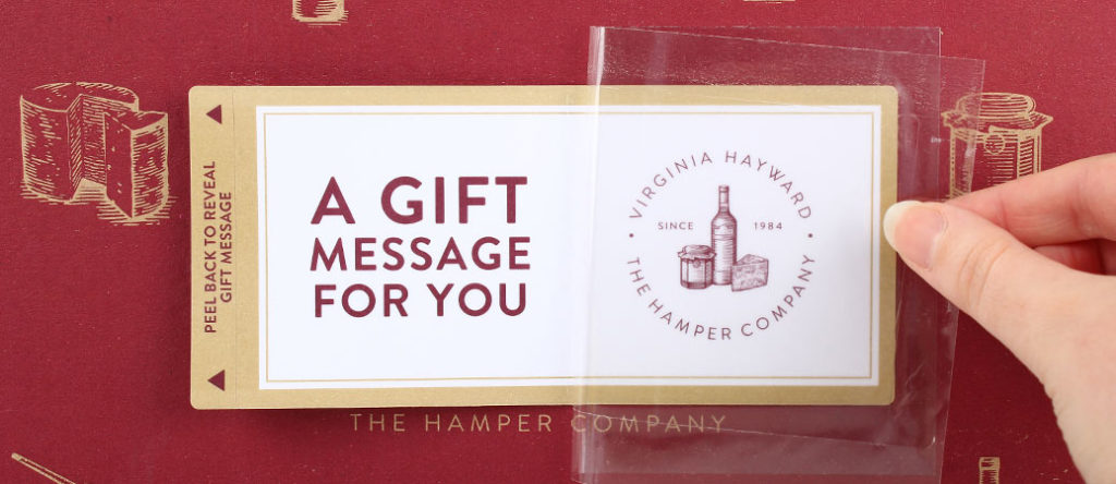 Personalised Gift Message
