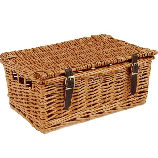 "12"" Traditional Lidded Hamper"