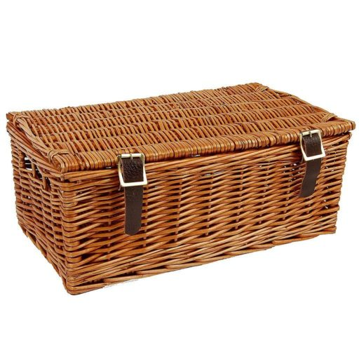 "16"" Traditional Lidded Hamper"