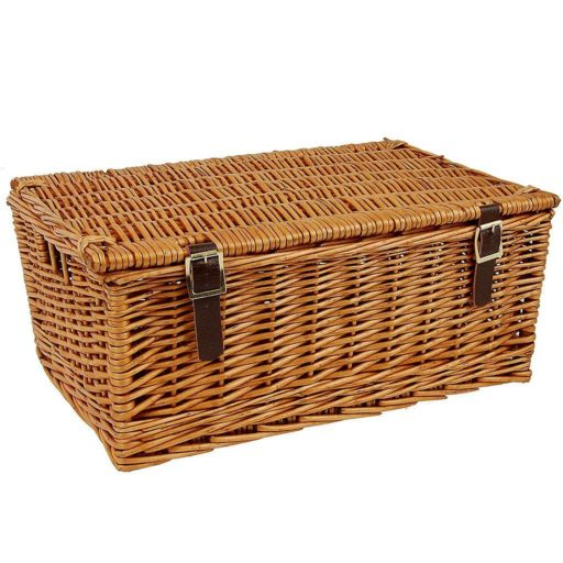 "18"" Traditional Lidded Hamper"