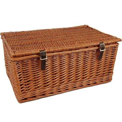 "23"" Traditional Lidded Hamper"
