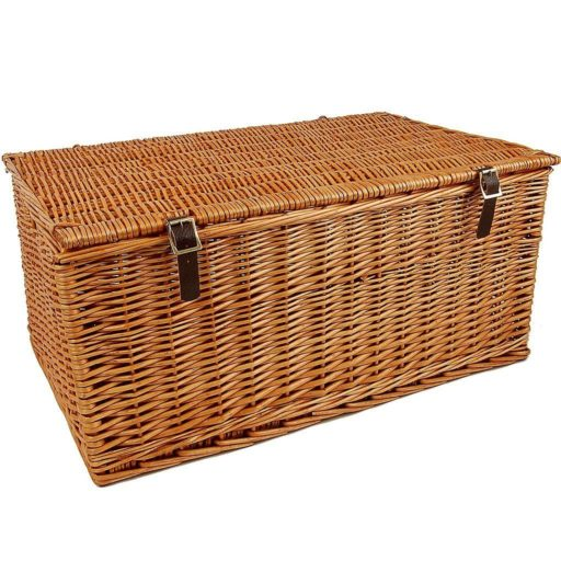 "27"" Traditional Lidded Hamper"