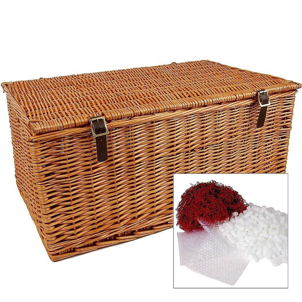 """27"""" Traditional Lidded Hamper with Packaging"""