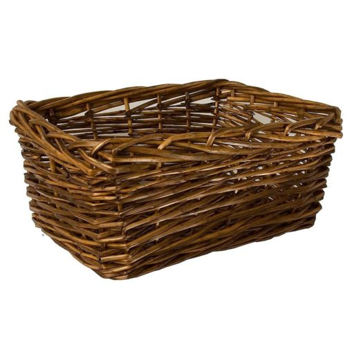 Square Edged Willow Basket (Medium)