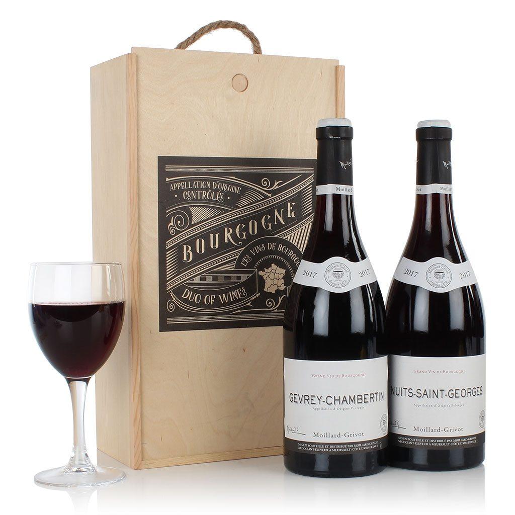 The Bourgognes Wine Duo