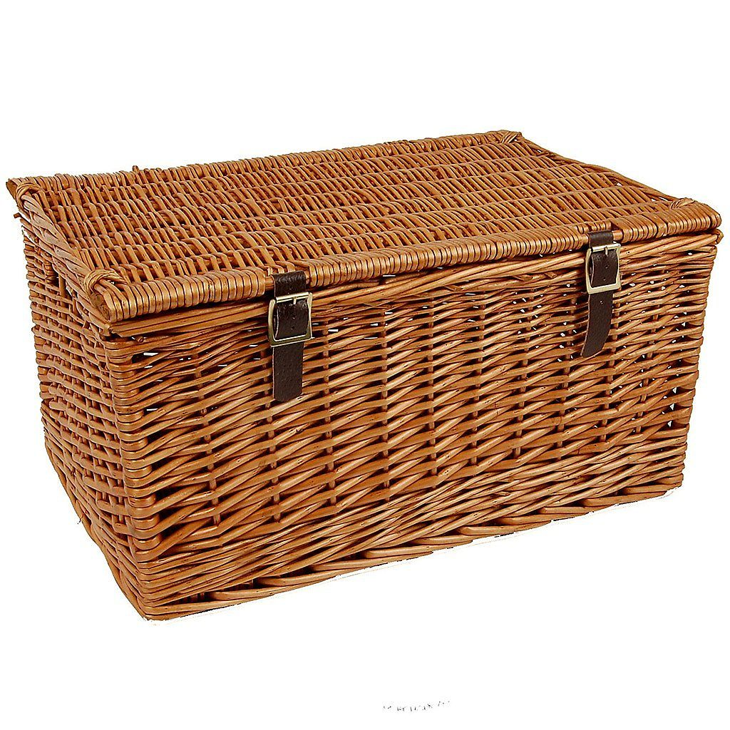 """21"""" Traditional Lidded Hamper with Packaging"""