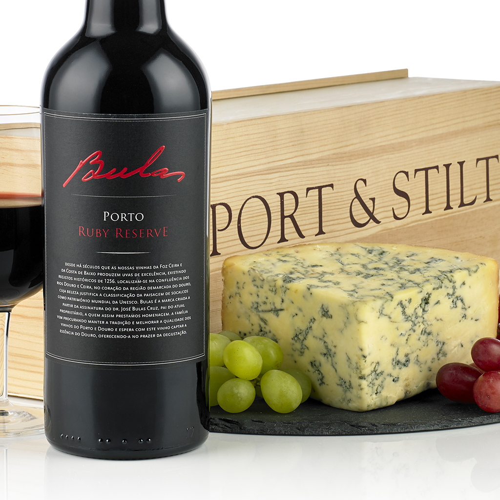 Classic Port and Stilton Gift