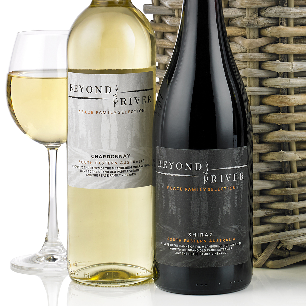 For Wines in Wicker Gift