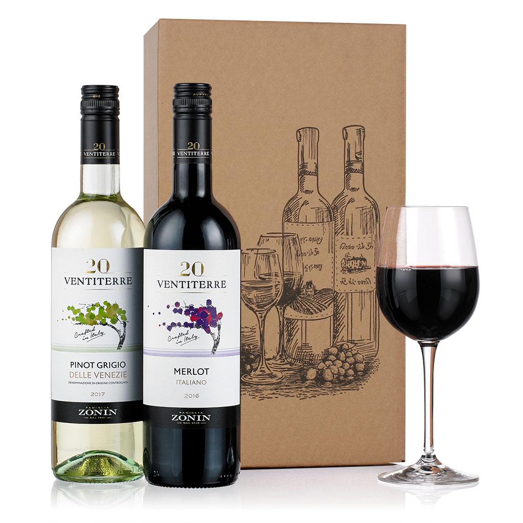 Italian Wine Duo Gift