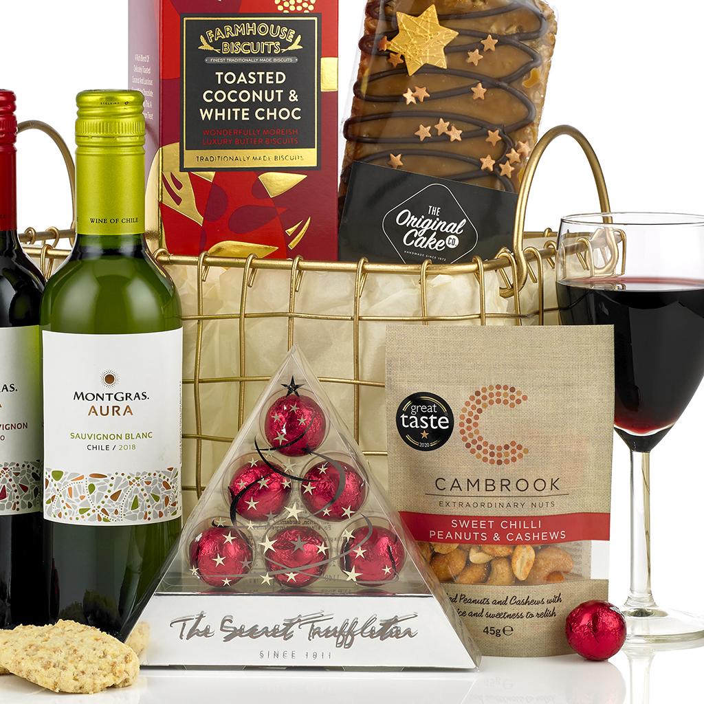 Merry Christmas Basket
