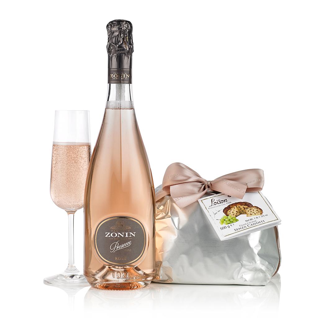 Pink Prosecco & Panettone