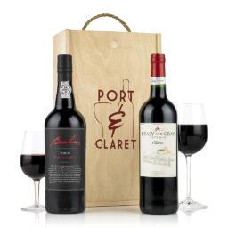 Port and Claret Gift Hamper