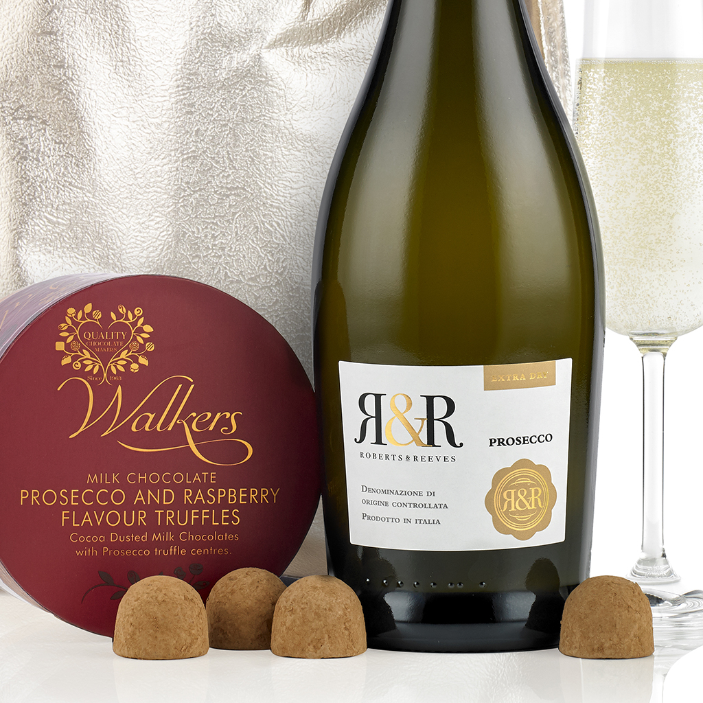 Prosecco and Chocolates Gift