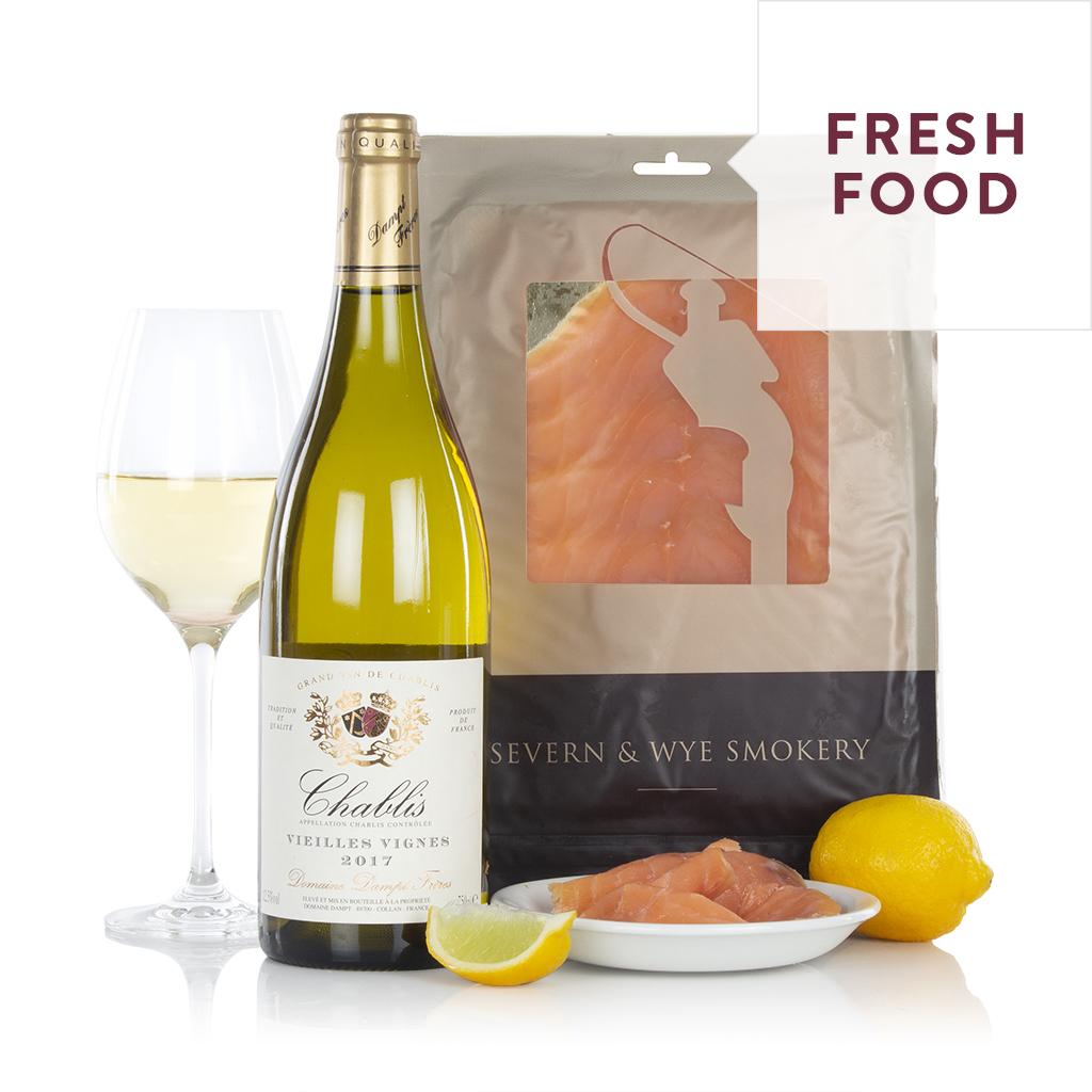 Salmon and Chablis Gift