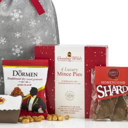 Snowy Christmas Sack Gift