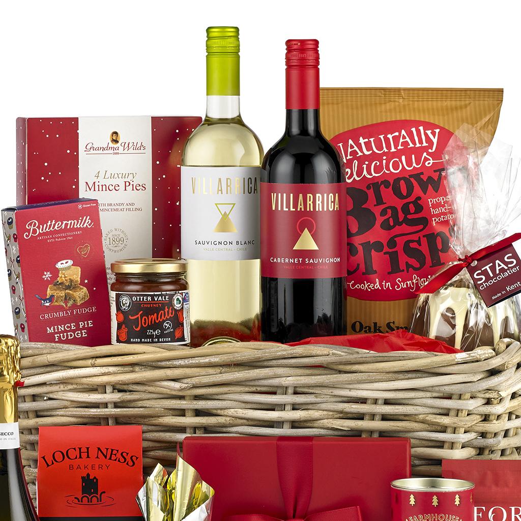 Taste Of Christmas Basket Hamper
