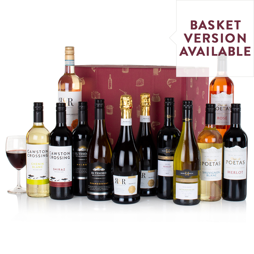 Twelve Wines in a Box Gift