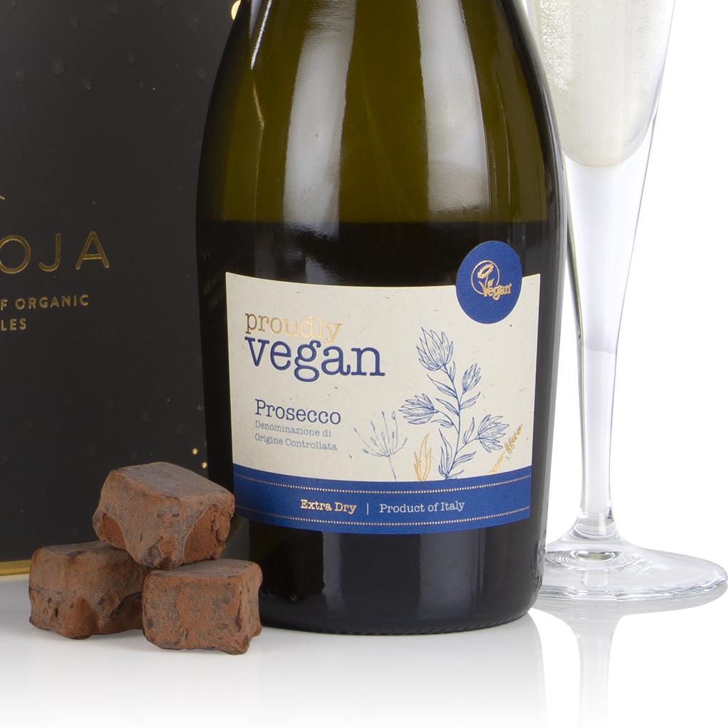 Vegan Prosecco and Chocolates Gift